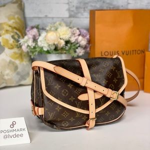 ✅LOUIS VUITTON ✅Saumur 30 Shoulder/ Crossbody